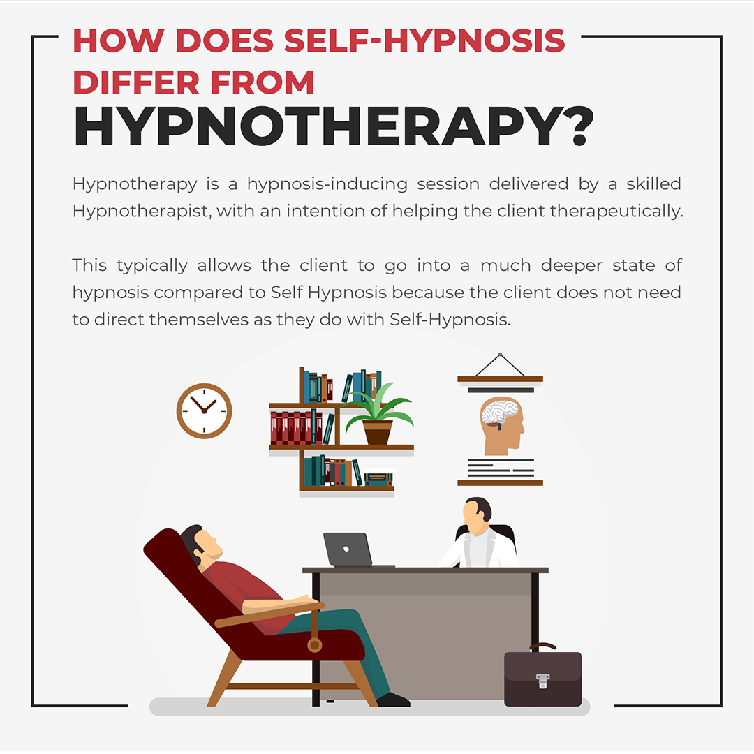 How is Self Hypnosis Different From Hypnotherapy Image