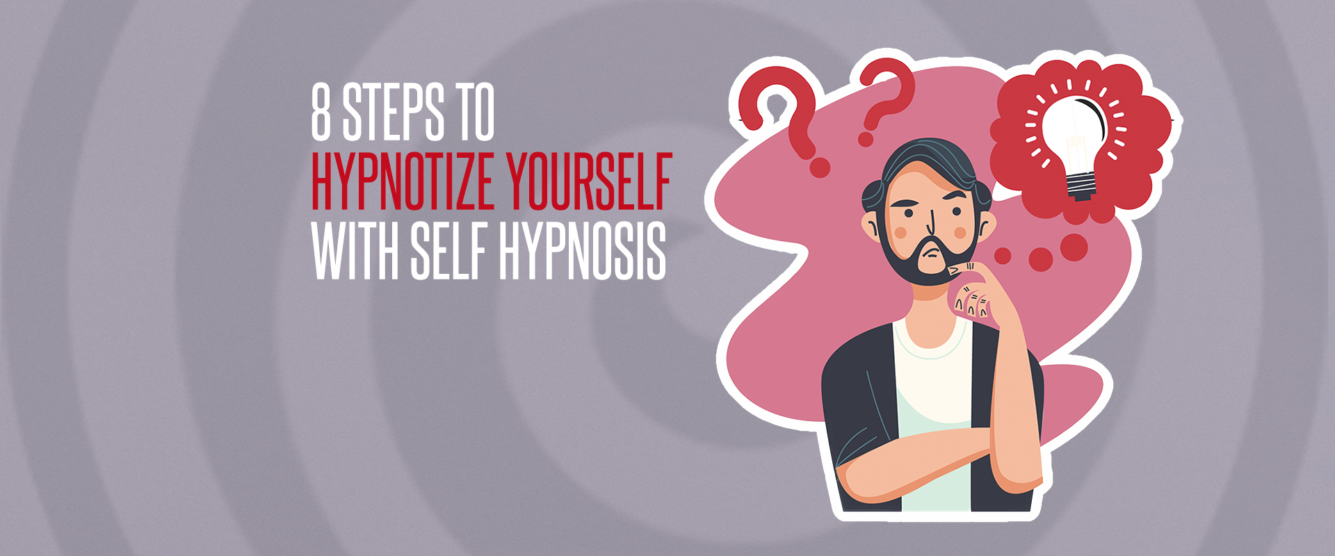 8 steps to hypnotize yourself banner