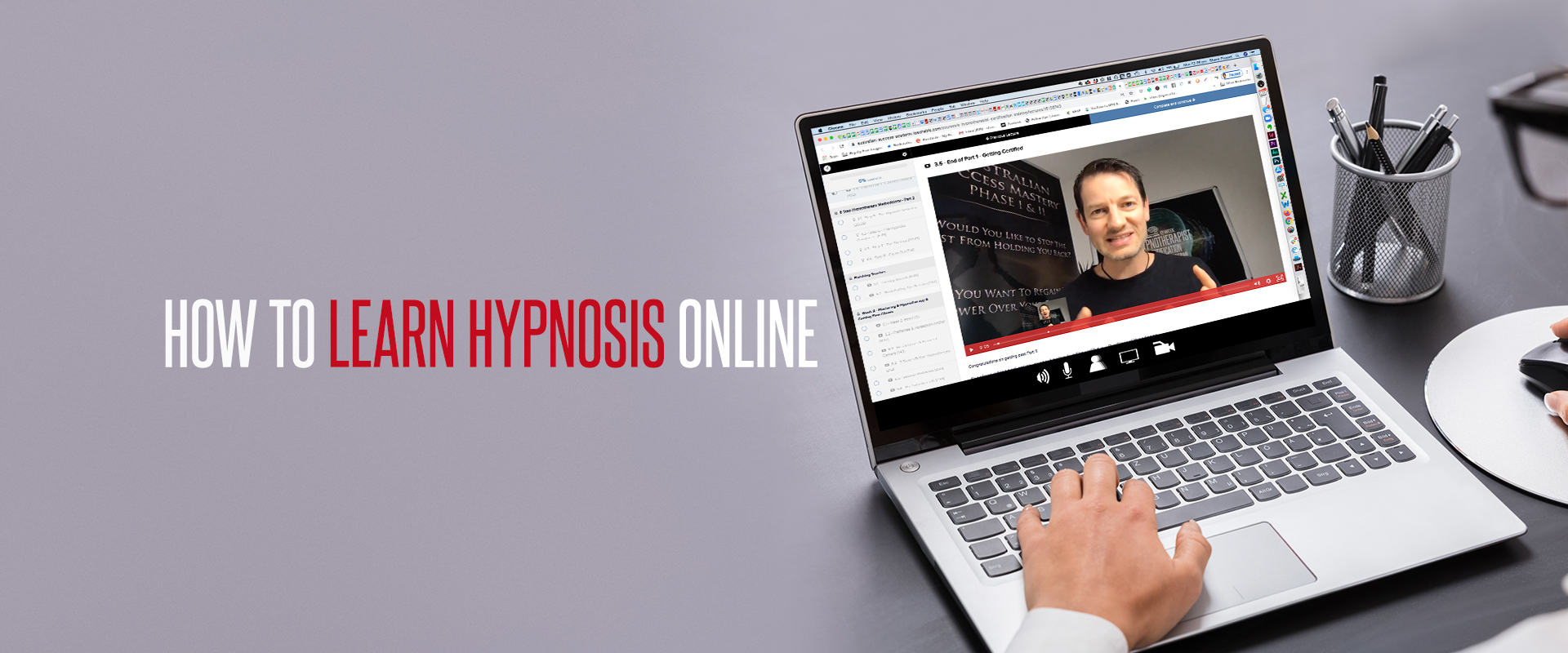 Learn Hypnosis Online Blog Banner